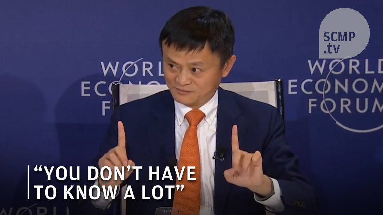 Jack Ma Career Advice You Don T Have To Be Smart To Be Successful
