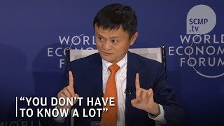 Jack Ma career advice: You don't have to be smart to be successful