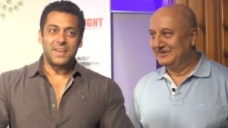 When Salman Khan Left Anupam Kher Teary Eyed!
