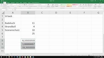 Excel: addieren, subtrahieren, multiplizieren & dividieren - Grundrechenarten [Grundkurs, lernen]