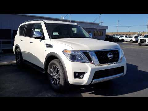 2018 Nissan Armada SL 4X4 Walk around