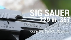 Sig Sauer 229 Legion in 357 Sig Trusted by Secret Service and Air Marshals