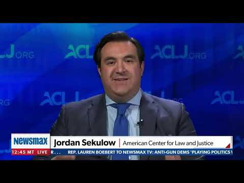 Bombshell Kerry Documents: We'll Fight in Courts for Key Information - Jordan Sekulow on Newsmax