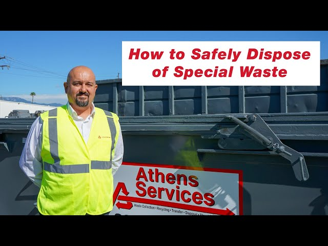 Special Waste Disposal Made Easy