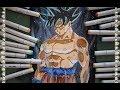 Como Dibujar a Goku Limit Breaker Silver ( Nueva fase ) Dragon Ball Super  How to draw Goku Silver