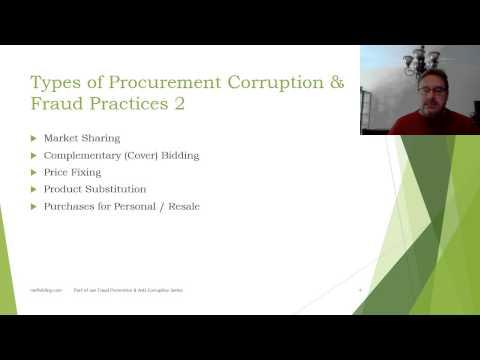 Fraud and Corruption in Public Procurement Part 2