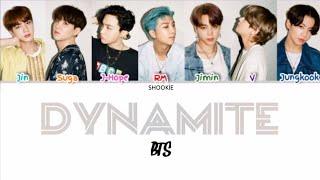 BTS (방탄소년단) - Dynamite  Kolay Okunuş