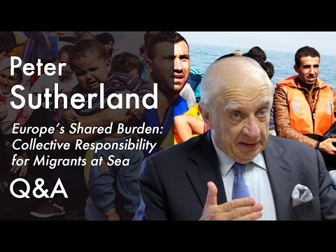On 'offshore processing' and protecting human rights  | Peter Sutherland (2015)