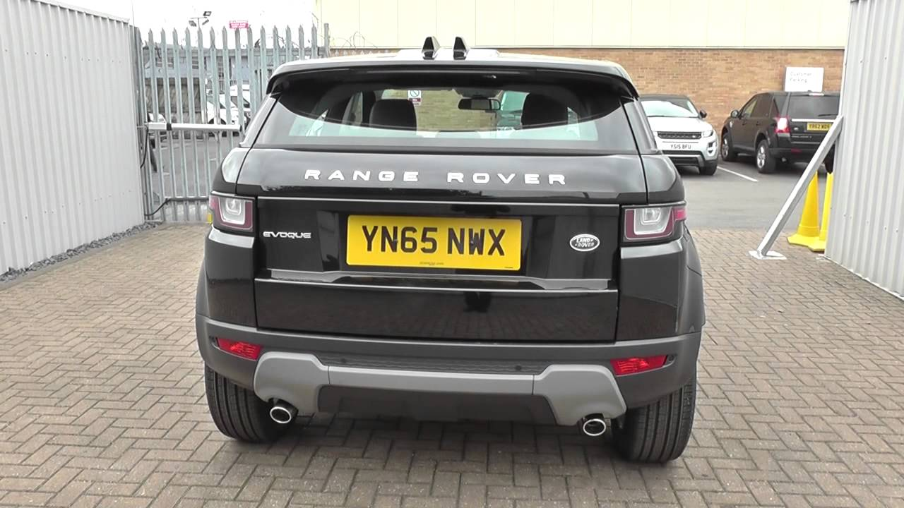 land rover range rover evoque 2016my 5 door td4 se tech manual u10714 youtube. Black Bedroom Furniture Sets. Home Design Ideas