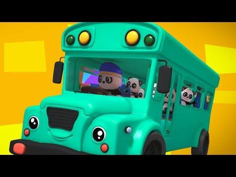 bánh xe trên xe buýt   bài hát giáo dục   thơ thiếu nhi   Kids Song   The Wheels On The Bus