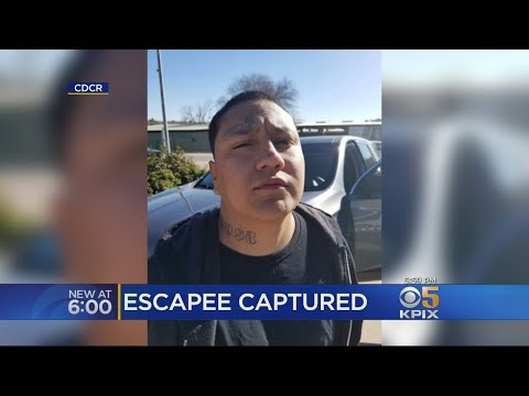 San Quentin Escapee Captured At Taco Bell In Paso Robles.