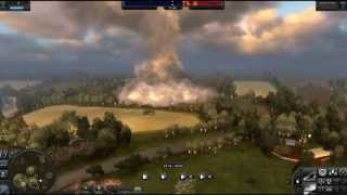 World in Conflict PC Game - Tug of War Mode - Bocage Map - Single Player Replay HD