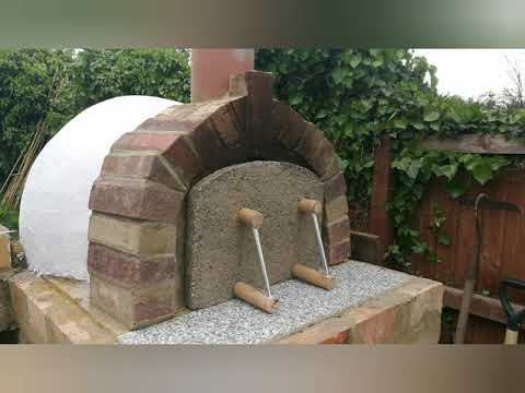 Italian pizza oven, very cheap to build.