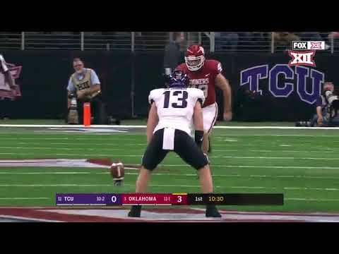 2017 NCAA Football Pac 12 Championship TCU vs Oklahoma