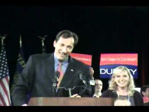 Chris Dudley (R) New Governor Of Oregon ?(Election Night)