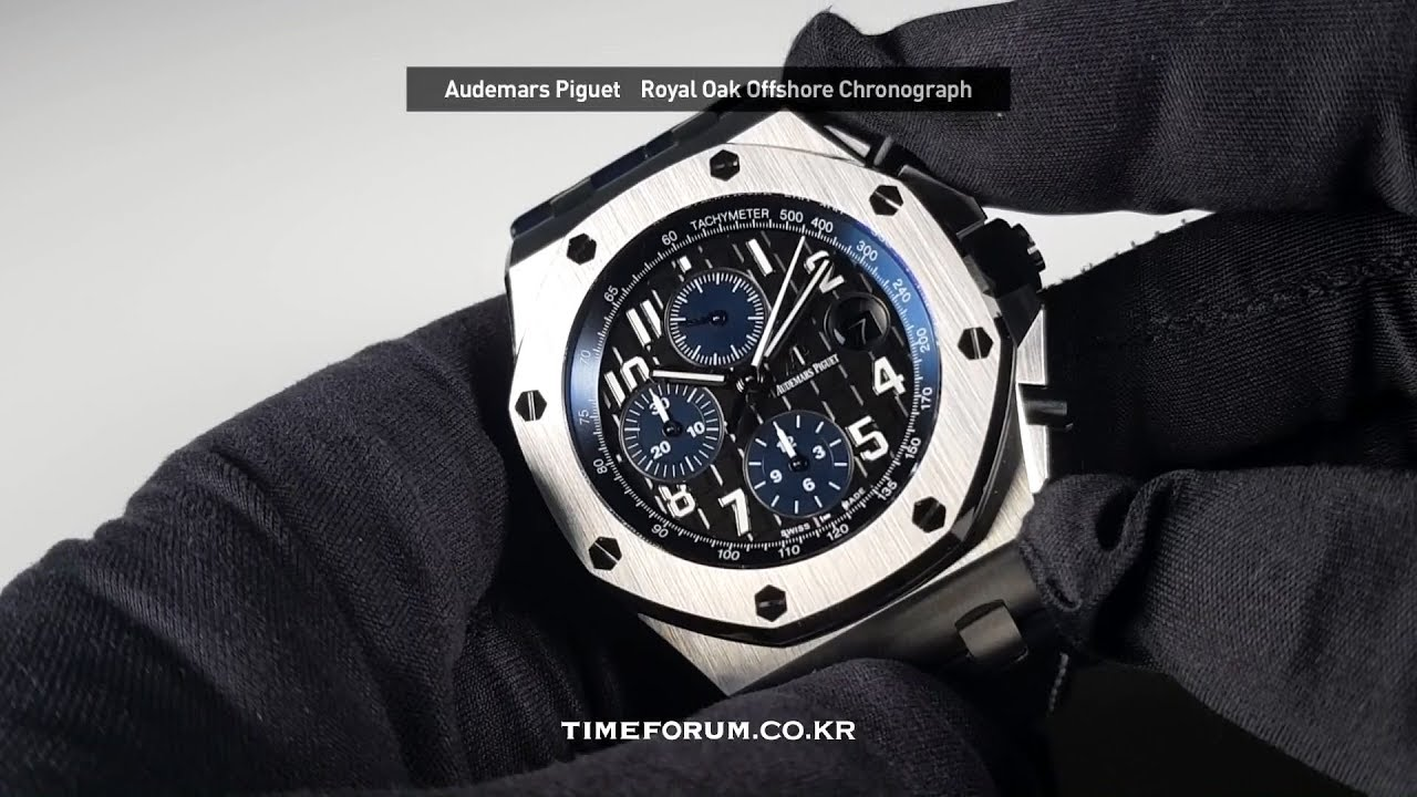 fa49494e824b Hands-On  Audemars Piguet Royal Oak Offshore Chronograph 42mm - YouTube