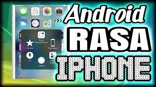 Merubah tampilan ANDROID seperti IPHONE - tips dan trik Android #1