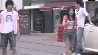 2006 Ha Ji Won & Kwon Sang Woo - Making of Bang Bang SummerH CF