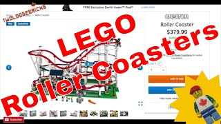 LEGO Roller Coasters Currently Available