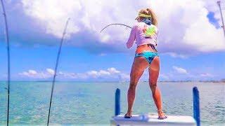 Florida Keys Inshore Fishing for Monster TARPON!