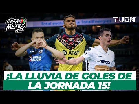 ¡Lluvia de goles de la Jornada 15! 🔥    Torneo Grita México AP2021   Presentado por Autozone