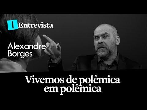 Vivemos de polêmica em polêmica - Alexandre Borges na TV Antagonista, com Madeleine Lacsko