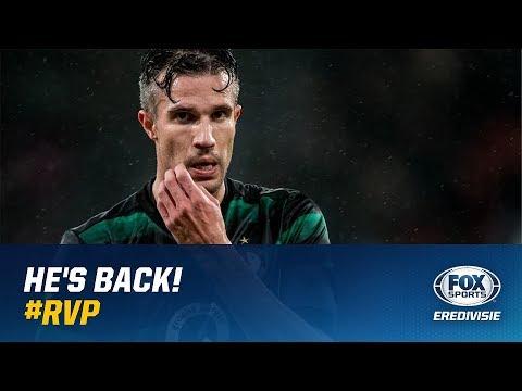 HE'S BACK | Robin van Persie valt in bij Feyenoord