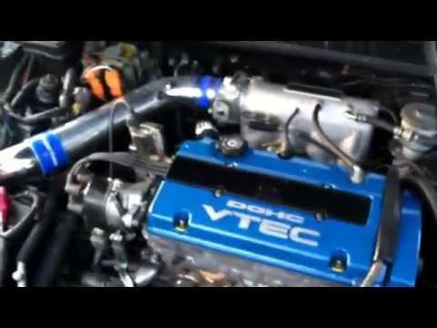 Blue Top H23A VTEC swap in 4th gen Honda Prelude H Honda Prelude Ecu Wiring Harness Diagram on