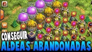 Aldeas abandonadas en clash of clans/tutorial