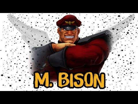 M. BISON | LA HISTORIA TRAS LOS CÓMICS - STREET FIGHTER