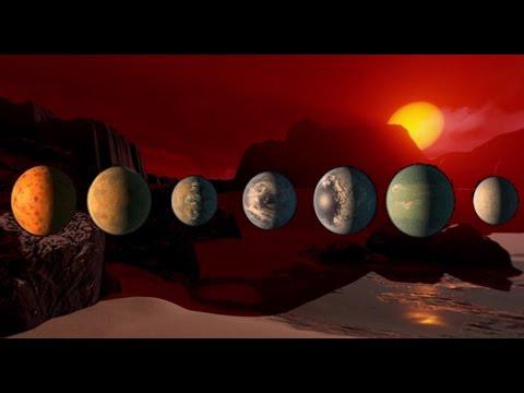 ¿Estamos solos en el universo? 7 nuevos planetas podrían albergar vida extraterrestre