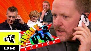 Anders Matthesen laver telefonfis i X Factor | Ultra Factor