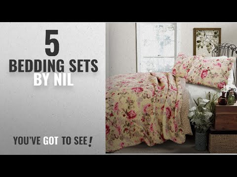 Top 10 Nil Bedding Sets 2018: 3 Piece Yellow Pink Green