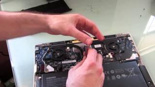 Samsung Series 9 ultrabook battery replacement