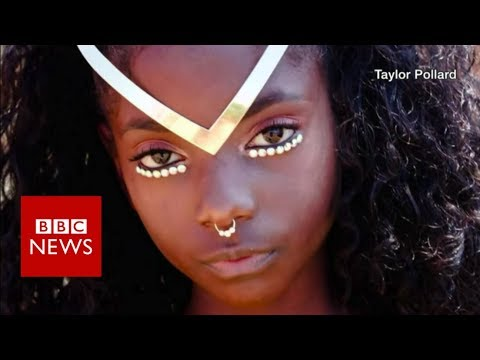 he 11 year old girl who beat the skin colour bullies - BBC News