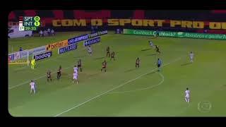 gol do Abel Hernandez sport 1x2 internacional