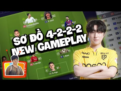 Sơ Đồ 4-2-2-2 Ban Bật New Gameplay - Game Thủ Park Jun Hyo
