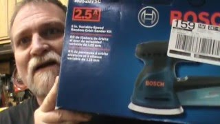Bosch Sander Review