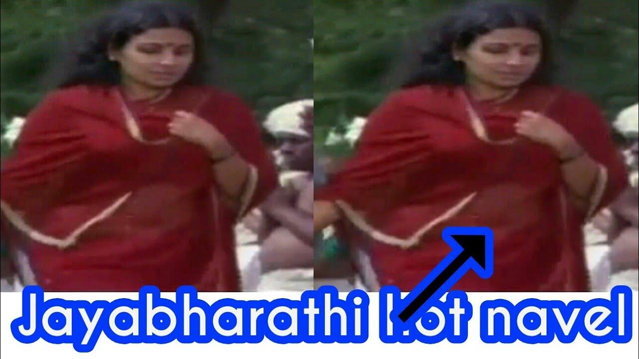 Jayabharathi hot navel - YouTube