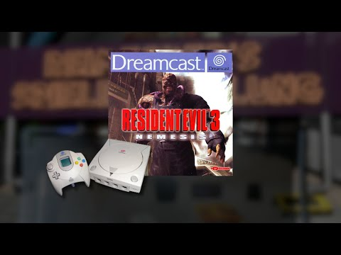 Gameplay : Resident Evil 3 Nemesis [Dreamcast]