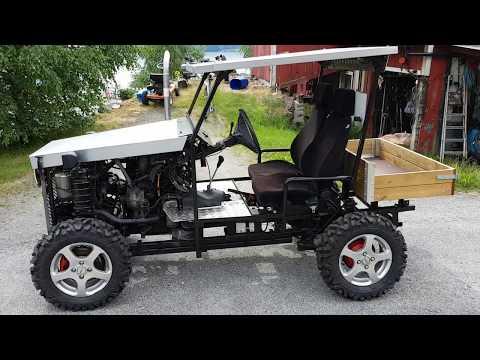 Homemade  Caddy  Diesel  4WD   UTV