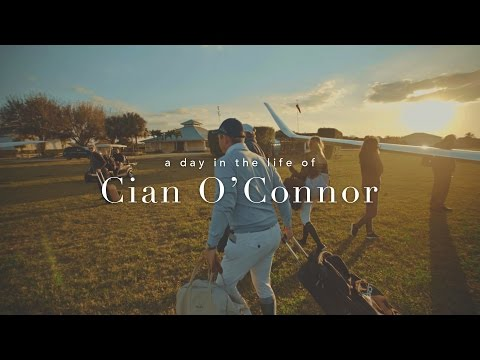 A day in the life of Cian O'Connor