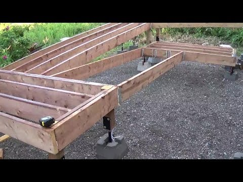 Wheelchair ramp build