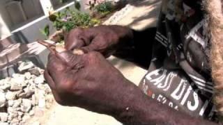 Negril Rasta Roy Carving