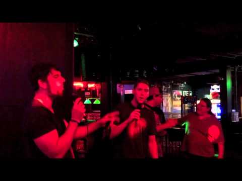 Neil Crowe rocks out some Sugar Ray for Karaoke