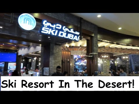 Ski Dubai The Biggest Ski Resort In The Desert, UAE and the Middle East