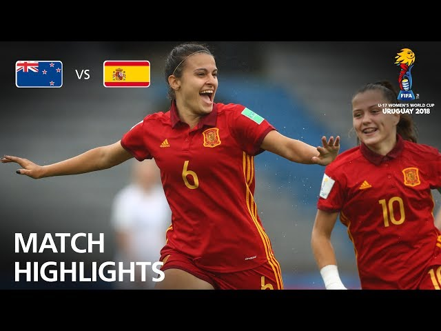 New Zealand v Spain - FIFA U-17 Women's World Cup 2018™ - Semi-Final