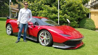 This Is The €4.0m Ferrari Sp38 Deborah! World Debut + Engine Sound [Sub Eng]