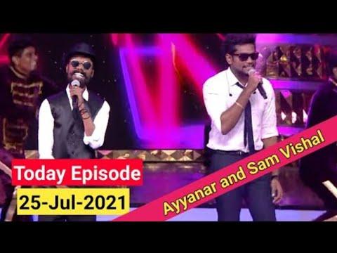 kj iyenar and sam vishal performance in super singer 8