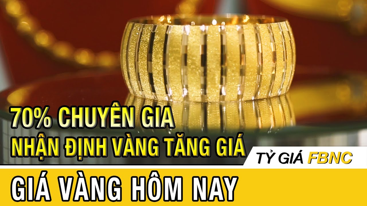 Giá vàng mới nhất hôm nay ngày 13 tháng 4/ 2020 | 70% chuyên gia nhận định giá vàng sắp tới tăng
